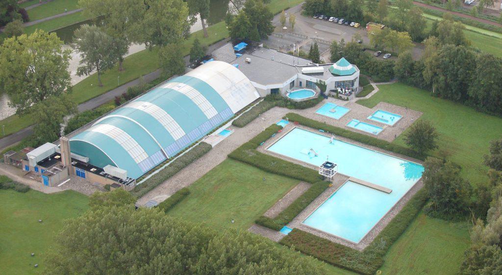 Unravelling zwembad Kampen
